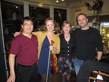 Benson, Hanneke, Denyce, Chris